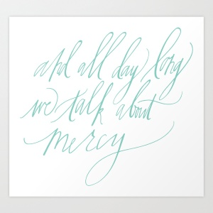 Joanna Newsom print | Bluestocking Calligraphy