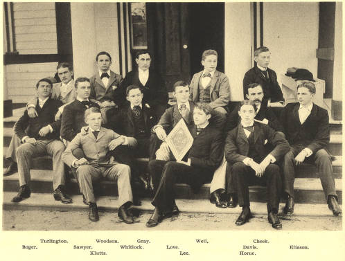 Phi Gamma Delta, the second fraternity chartered at UNC-Chapel Hill, in 1851.