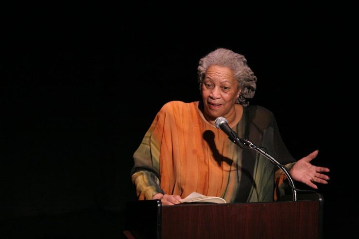 Toni Morrison. Creative Commons license.