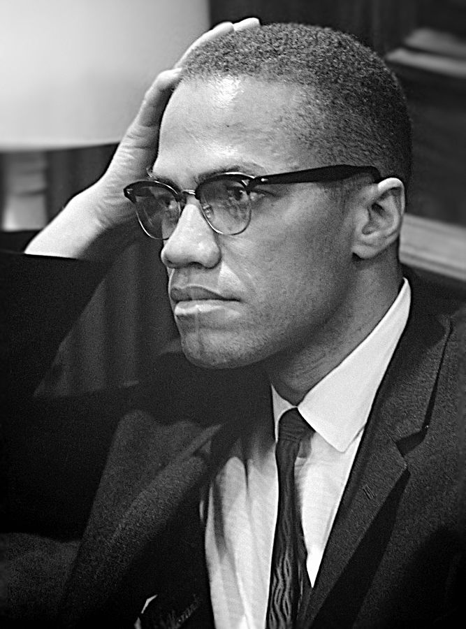 Malcolm X. Creative Commons license.