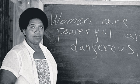 Audre Lorde. Creative Commons license.